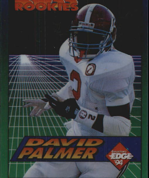 1994 Collector's Edge Boss Rookies #10 David Palmer