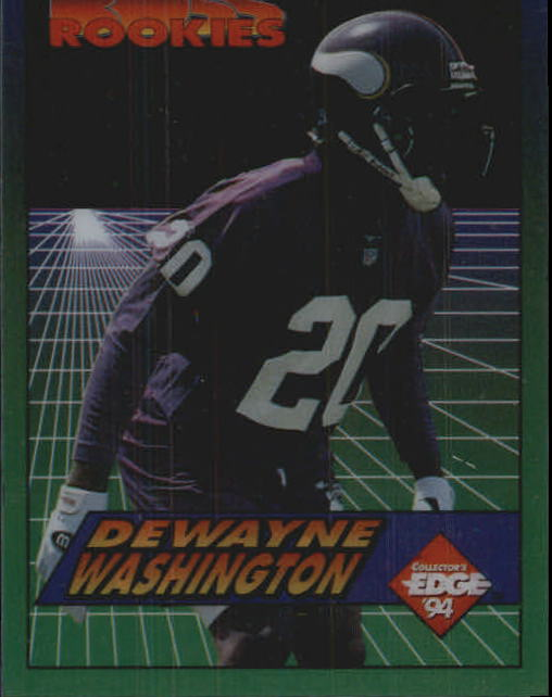 1994 Collector's Edge Boss Rookies #13 Dewayne Washington