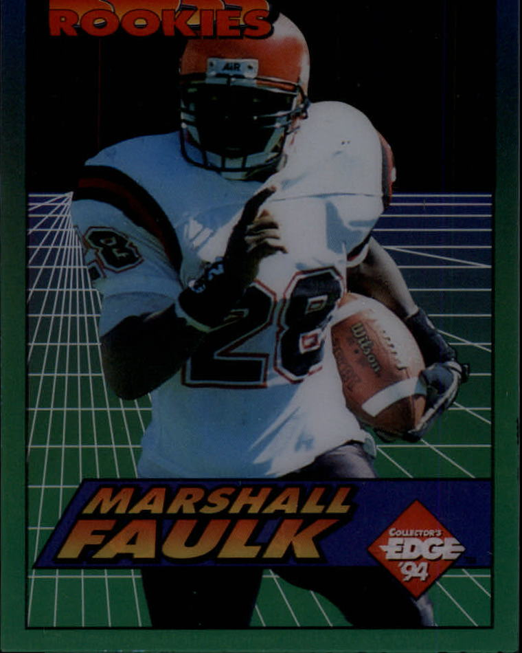 1994 Collector's Edge Boss Rookies #19 Marshall Faulk