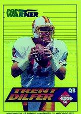 1994 Collector's Edge Boss Rookies Update #1 Trent Dilfer