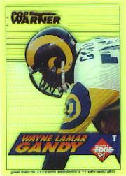 1994 Collector's Edge Boss Rookies Update #10 Wayne Gandy