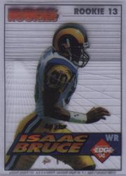 1994 Collector's Edge Boss Rookies Update #13 Isaac Bruce