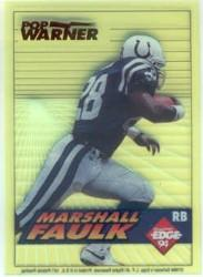 1994 Collector's Edge Boss Rookies Update Green #6 Marshall Faulk