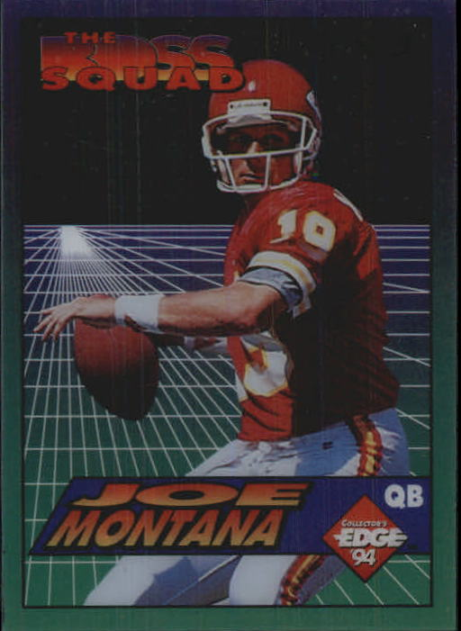 1994 Collector's Edge Boss Squad #2 Joe Montana