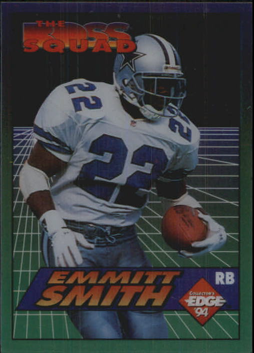 1994 Collector's Edge Boss Squad #13 Emmitt Smith