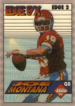 1994 Collector's Edge FX #2 Joe Montana