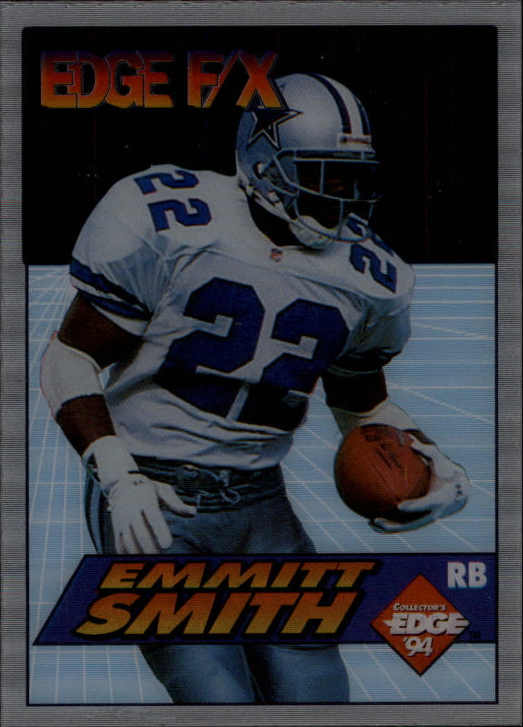 1994 Collector's Edge FX #4 Emmitt Smith