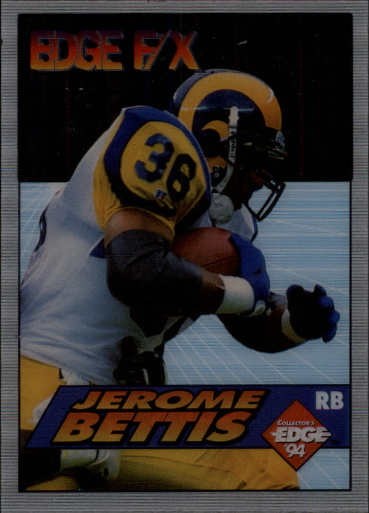 1994 Collector's Edge FX #5 Jerome Bettis