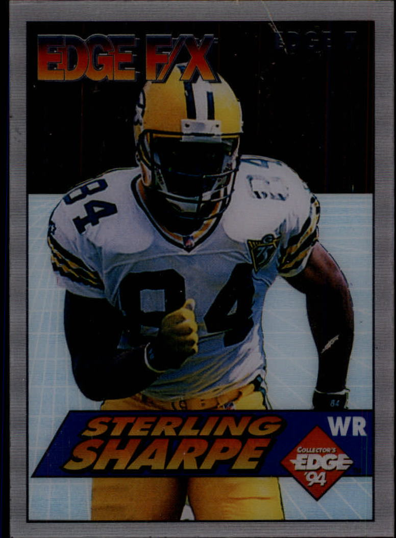 1994 Collector's Edge FX #7 Sterling Sharpe