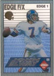 1994 Collector's Edge FX Silver Letters #1 John Elway