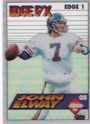 1994 Collector's Edge FX White Backs #1 John Elway