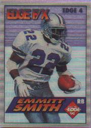 1994 Collector's Edge FX White Backs #4 Emmitt Smith