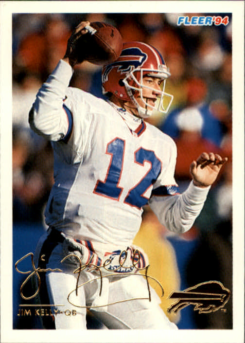 1994 Fleer #43 Jim Kelly