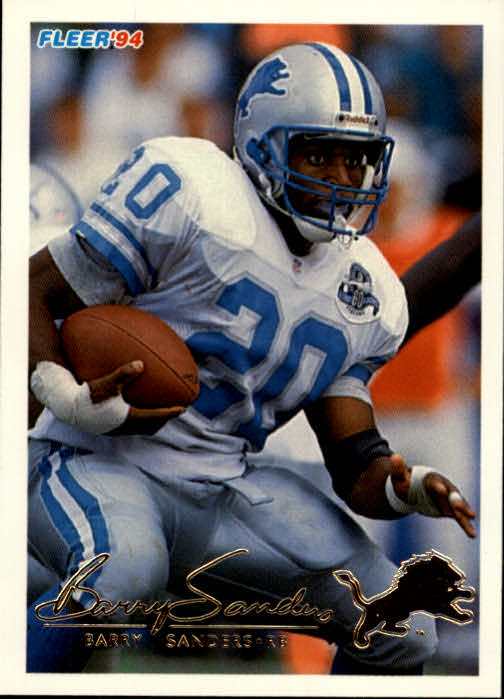 1994 Fleer #160 Barry Sanders