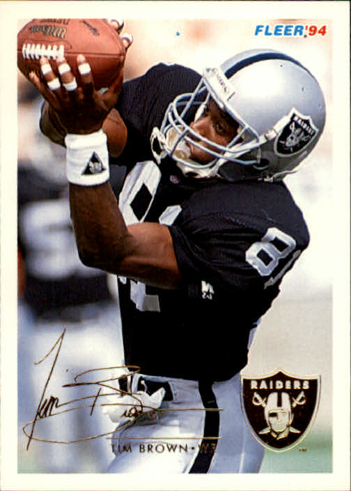 1994 Fleer #232 Tim Brown