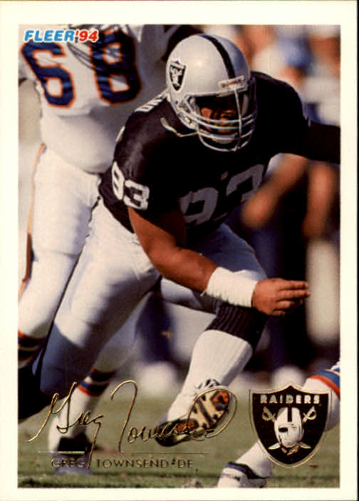 1994 Fleer #247 Greg Townsend
