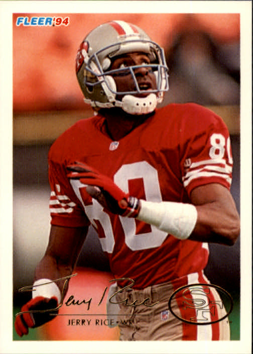 1994 Fleer #420 Jerry Rice
