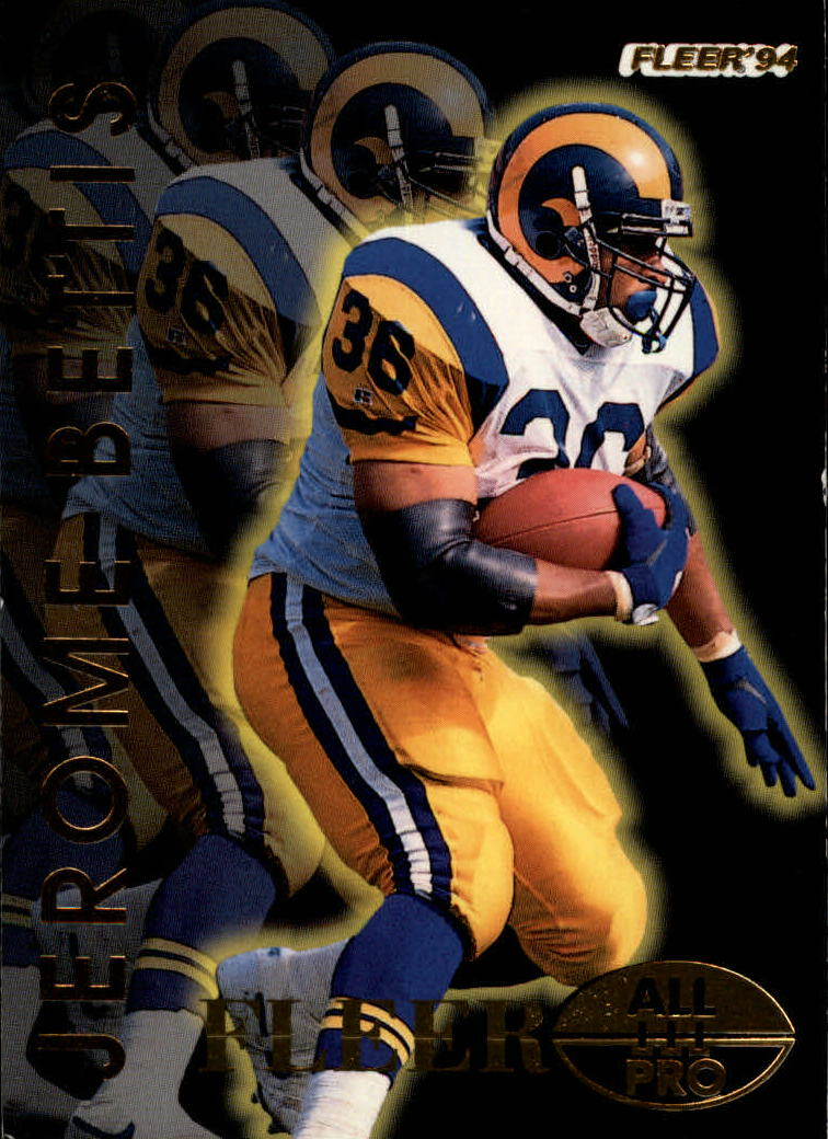 1994 Fleer All-Pros #3 Jerome Bettis
