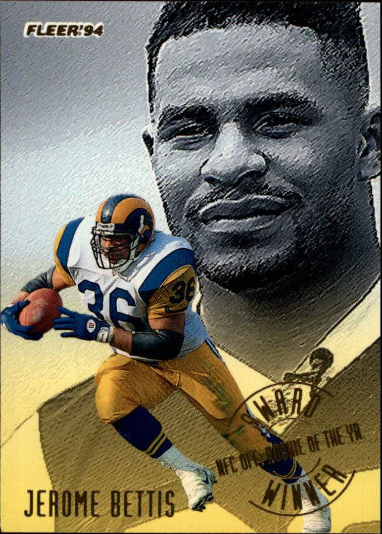 1994 Fleer Award Winners #1 Jerome Bettis