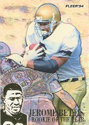 1994 Fleer Jerome Bettis #1 Jerome Bettis