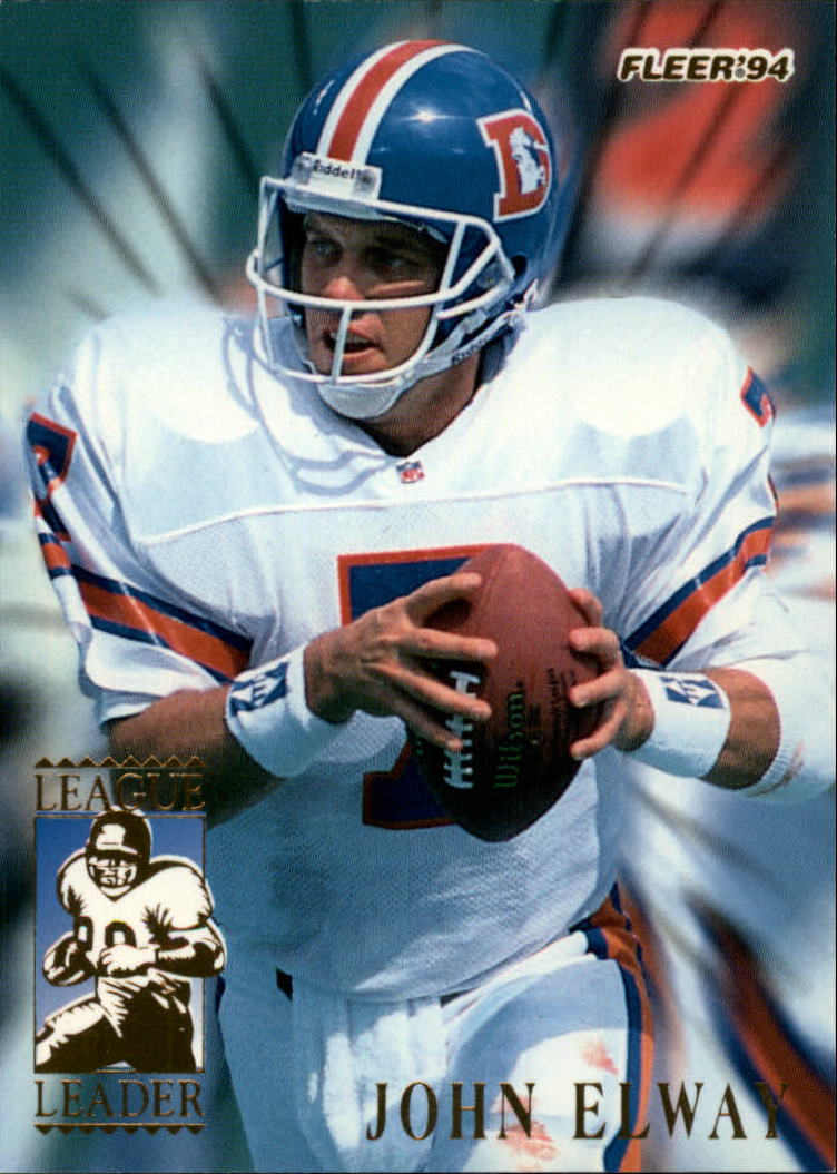 1994 Fleer League Leaders #3 John Elway