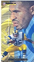 1994 GameDay Second Year Stars #1 Jerome Bettis