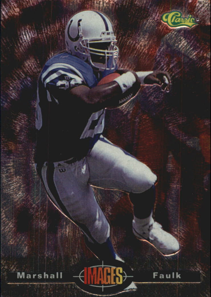 1994 Images #12 Marshall Faulk RC