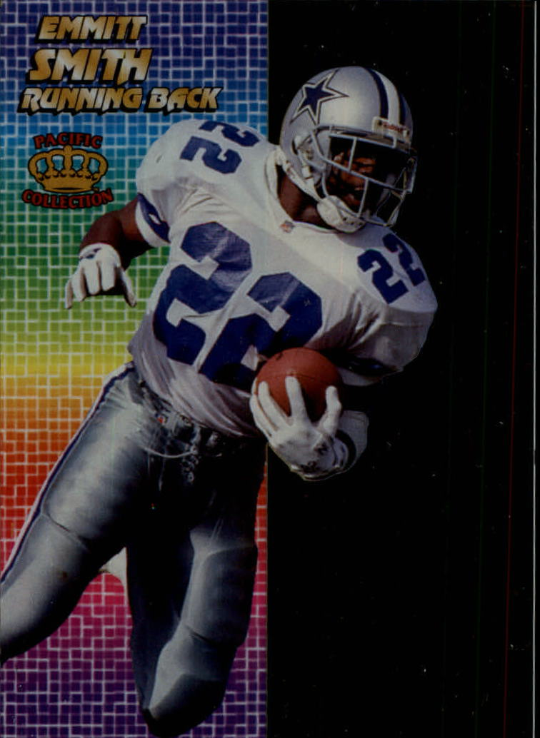 1994 Pacific Crystalline #1 Emmitt Smith