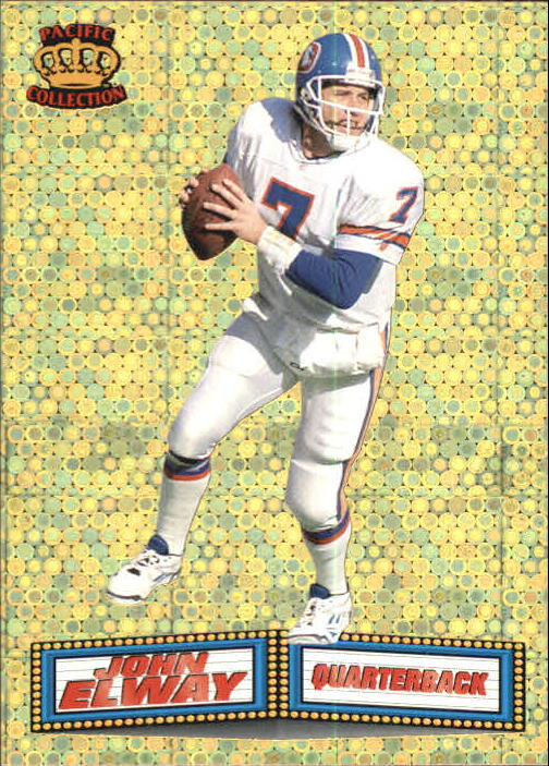 1994 Pacific Marquee Prisms Gold #10 John Elway