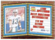 1994 Pacific Marquee Prisms Gold #17 Dan Marino back image