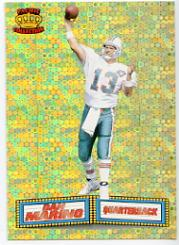1994 Pacific Marquee Prisms Gold #17 Dan Marino