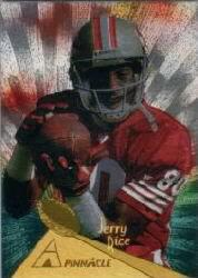 1994 Pinnacle Trophy Collection #181 Jerry Rice