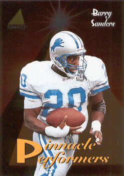 1994 Pinnacle Performers #PP4 Barry Sanders