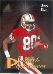 1994 Pinnacle Performers #PP5 Jerry Rice