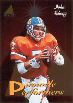 1994 Pinnacle Performers #PP7 John Elway