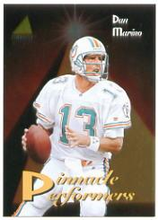 1994 Pinnacle Performers #PP18 Dan Marino