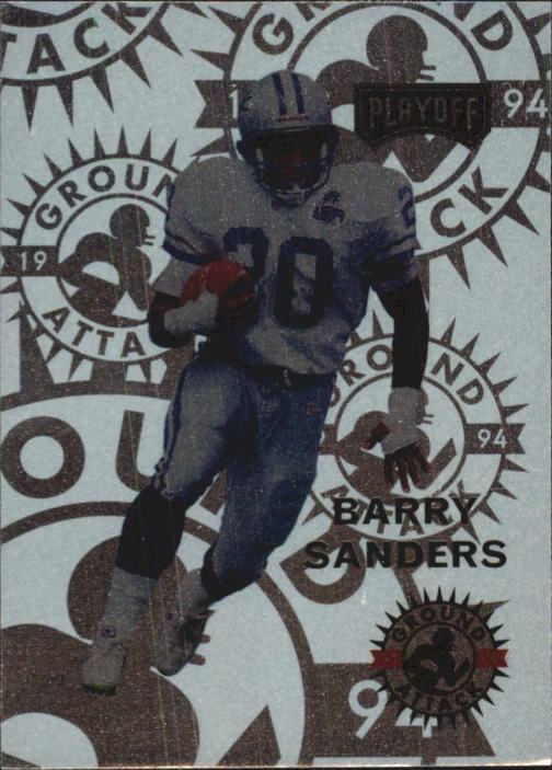 1994 Playoff #240 Barry Sanders GA