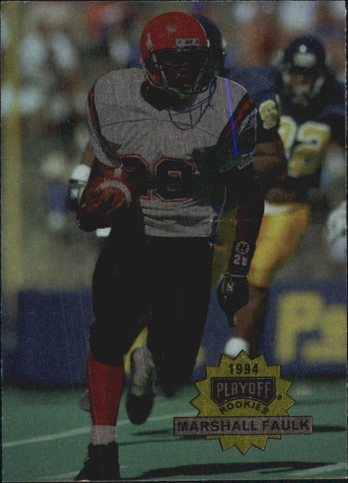 1994 Playoff #304 Marshall Faulk RC