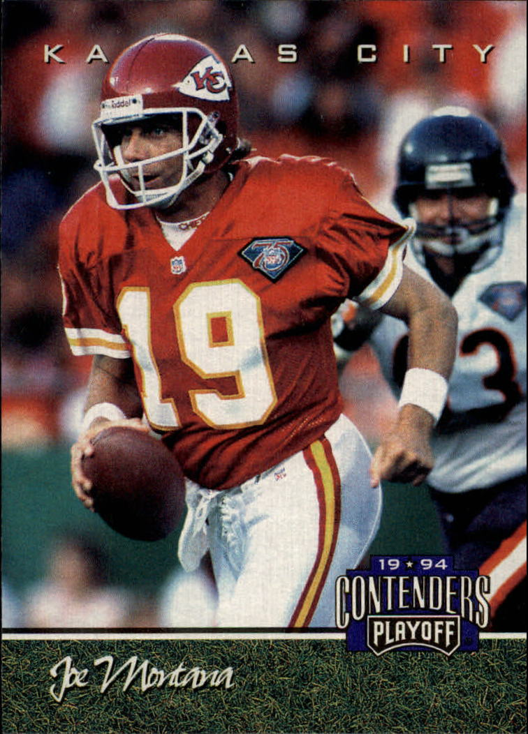 1994 Playoff Contenders #25 Joe Montana