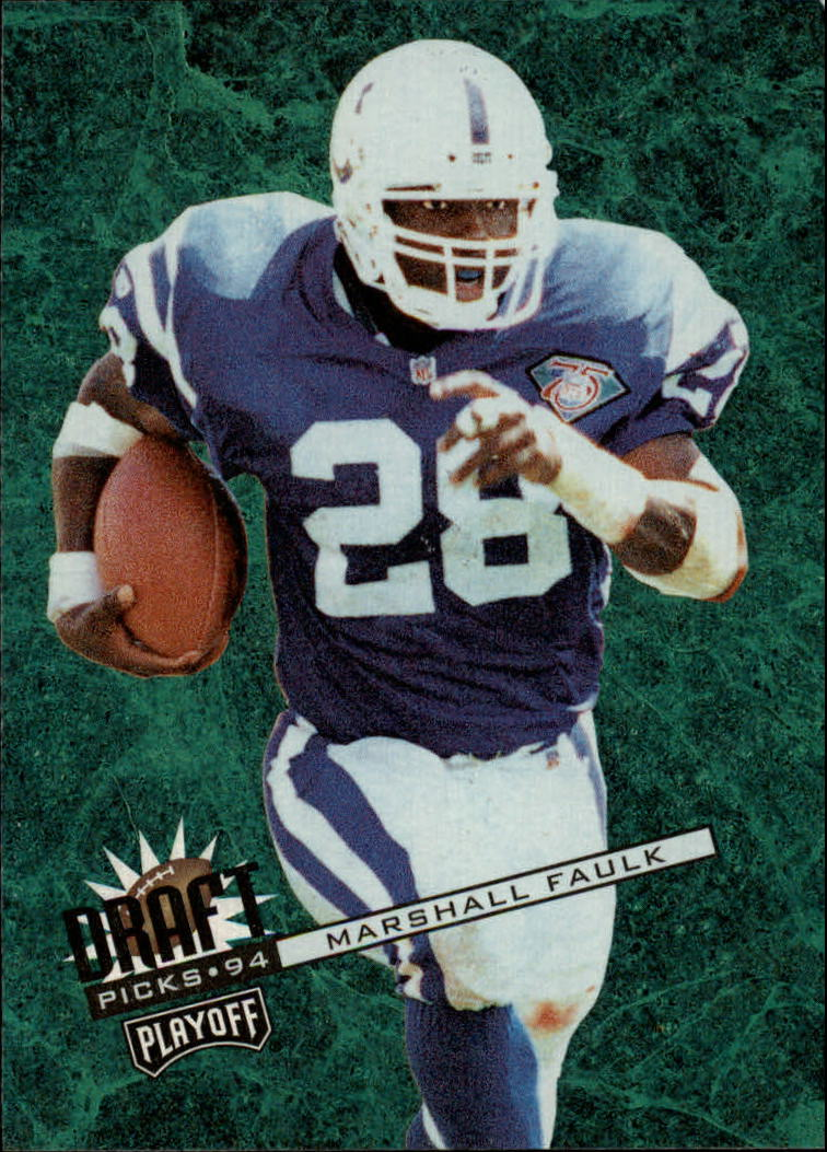 1994 Playoff Contenders #104 Marshall Faulk RC