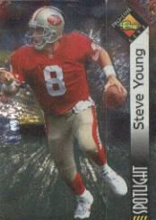 1994 Pro Line Live Spotlight #PB11 Steve Young