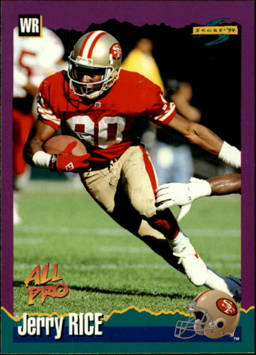 1994 Score #11 Jerry Rice