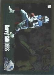 1994 Score Gold Zone #1 Barry Sanders