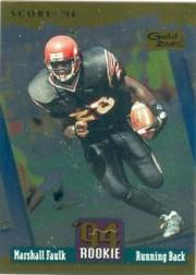 1994 Score Gold Zone #277 Marshall Faulk