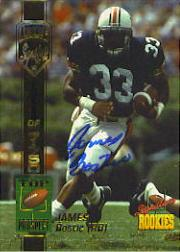 1994 Signature Rookies Autographs #7 James Bostic