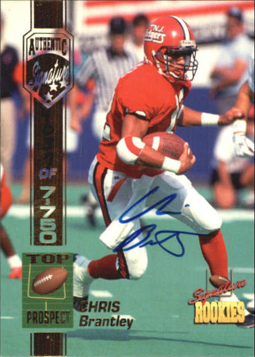 1994 Signature Rookies Bonus Autographs #6 Chris Brantley