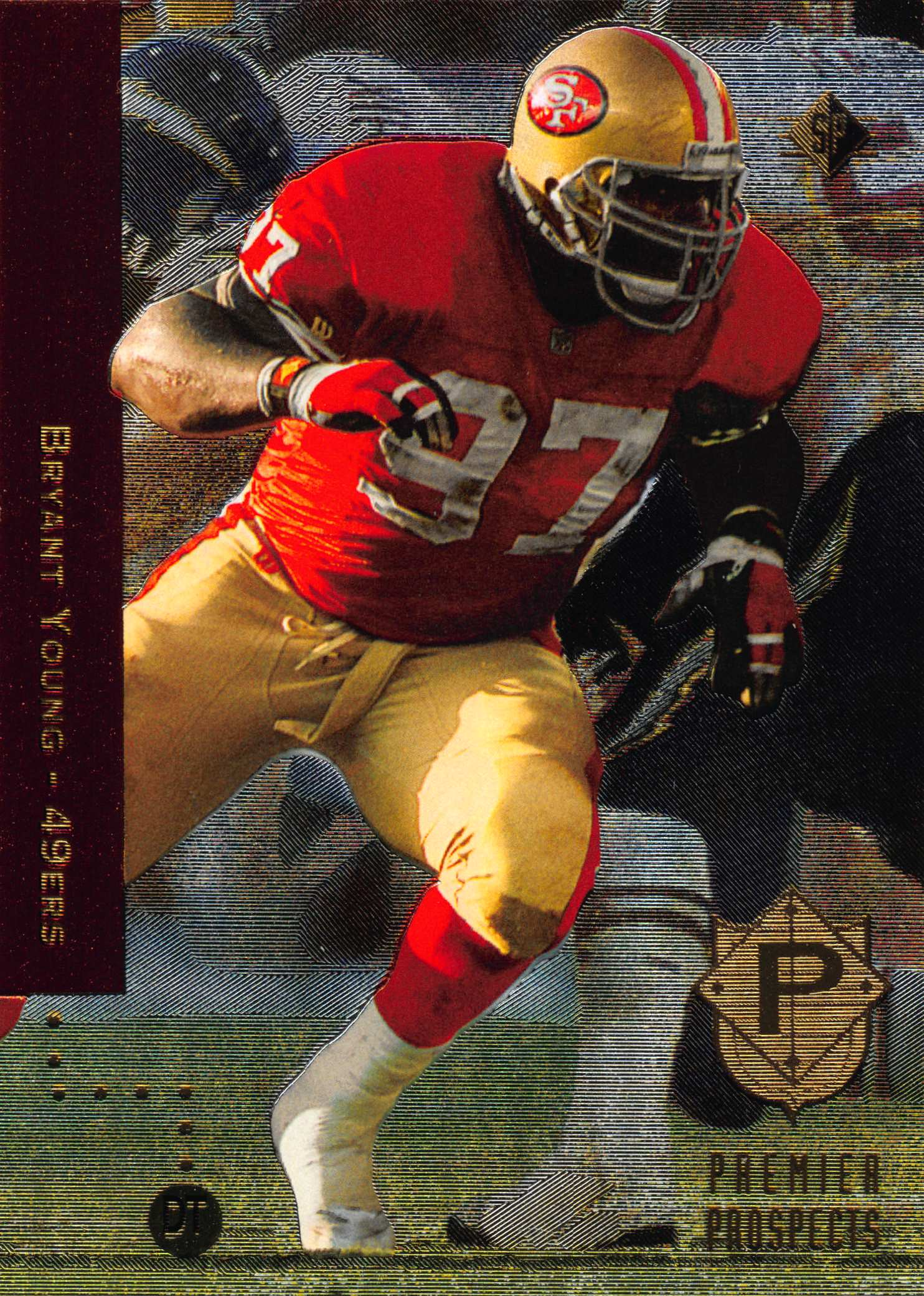 1994 SP #6 Bryant Young RC