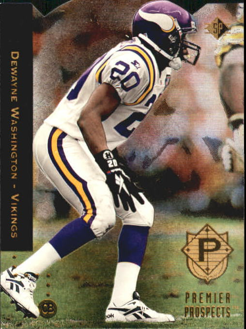 1994 SP Die Cuts #11 Dewayne Washington