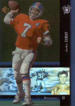 1994 SP Holoviews #PB11 John Elway