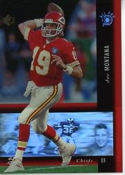 1994 SP Holoviews #PB17 Joe Montana